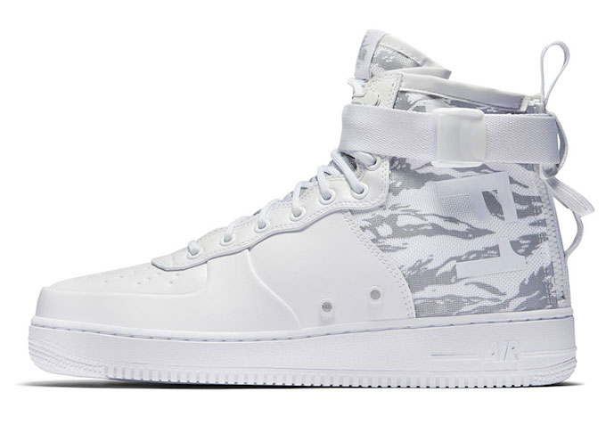 Be a Snow Boss with the Nike SF AF-1 Mid Winter Camo via Natalie Davies