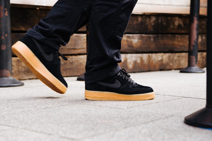Nike Air Force 1 07 LV8 Suede: On-Foot Shots