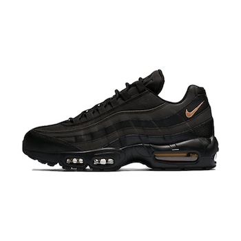 e72d1b3fbd Nike Air Max 95 - Black & Gold - AVAILABLE NOW - The Drop Date