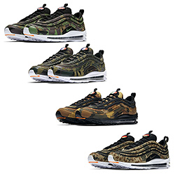 Available Now: the Nike Air Max 97 Country Camo Pack The