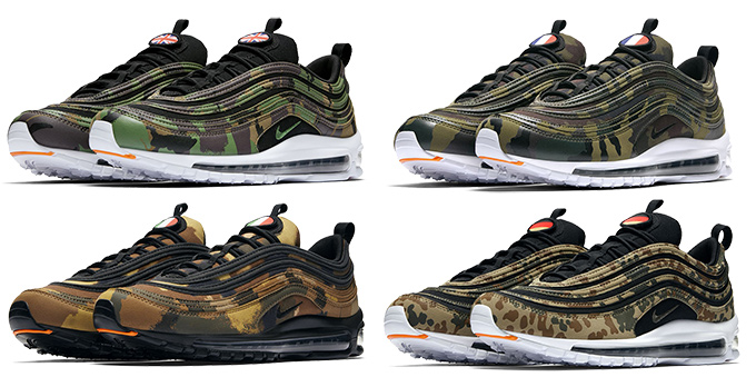 sale retailer 722d0 db981 Available Now: the Nike Air Max 97 Country Camo Pack - The ...