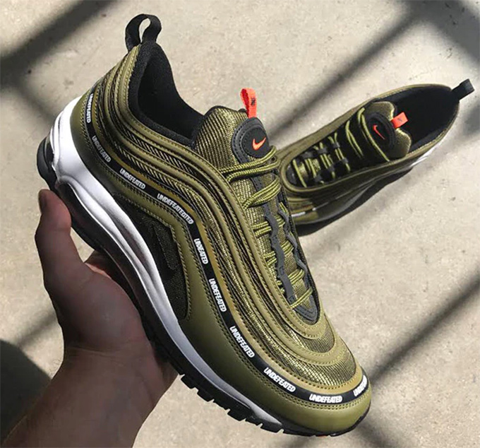 Cheap Nike Air Max 97 x Undefeated: Sneaker Magazine Street