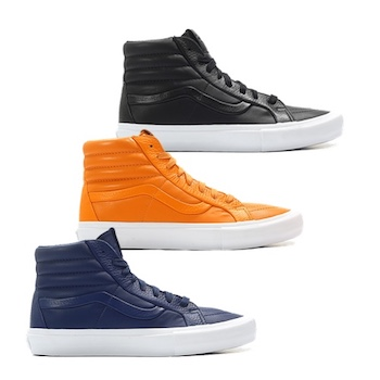 0ef942c40a Vans Vault SK8-Hi Reissue LX - Stitch   Turn - AVAILABLE NOW - The ...