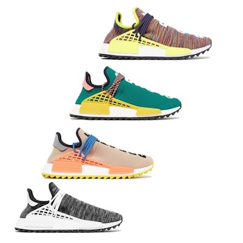 outlet store c6116 b7b32 adidas Originals x PHARRELL WILLIAMS HUMAN RACE NMD TRAIL – 11 NOV 2017