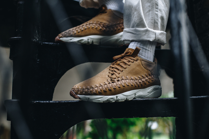 sports shoes 4088a 893c5 Nike Air Footscape Woven Chukka Flax