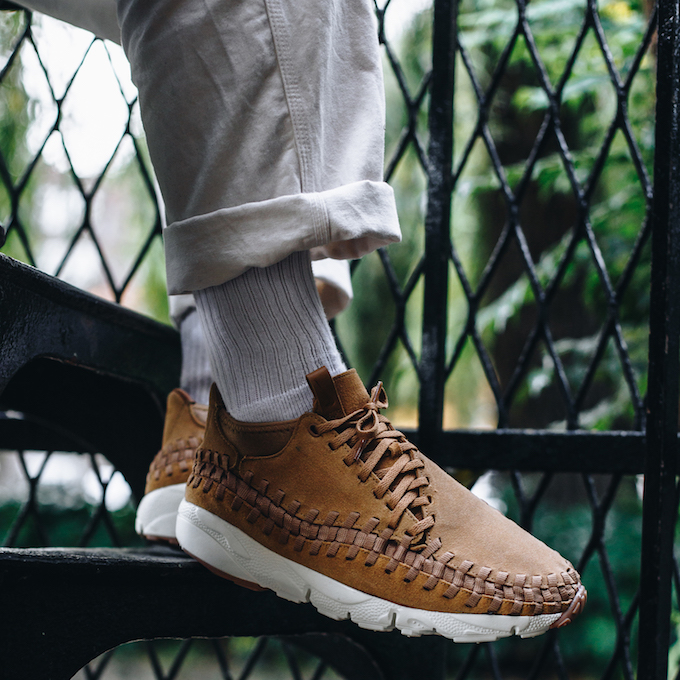 pretty nice 72065 53720 The NIKE AIR FOOTSCAPE WOVEN CHUKKA FLAX is AVAILABLE NOW  hit the banner  below to find out where you can get your hands on a pair today.