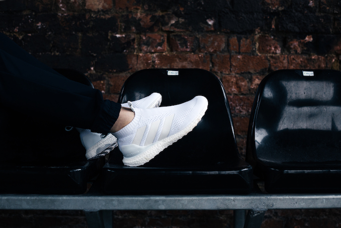 aa388549f Performance has never looked so good as the ADIDAS A 16+ PURECONTROL  ULTRABOOST. A sleek Primeknit slip-on upper packed with fresh to death  running details