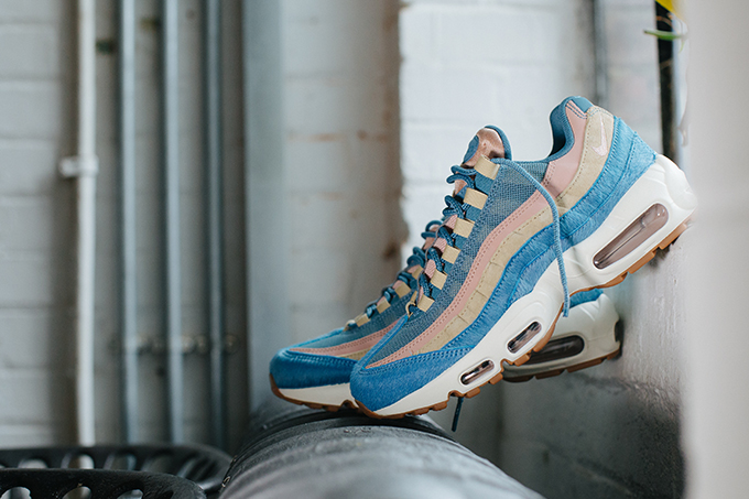 9728abddf01e The Nike Air Max 95 LX Hits Hard in Smoky Blue and Mushroom - The ...