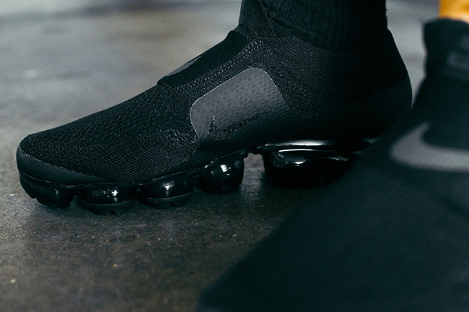 1a25f2ea96c64 Nike Air VaporMax Flyknit MOC Black  On-Foot Shots - The Drop Date
