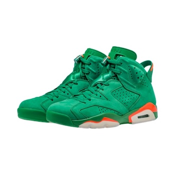 96eb986f0b3 NIKE AIR JORDAN 6 RETRO - Gatorade Pinegreen - 30 DEC 2017 - The ...