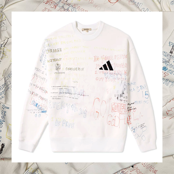 d78ae7bf The YEEZY SEASON 5 CALABASAS jackets and sweatshirts are available ...