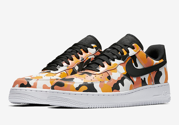 Enter Camo Heaven with the Nike Air Force 1 Low Camo Pack