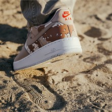 98dc7527f516 Nike Air Force 1 Low 07 LV8 Desert Camo  On-Foot Shoot
