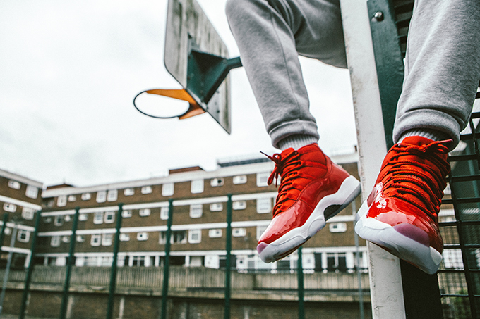 outlet store a230a d854e Nike Air Jordan XI Retro Win Like 96: On-Foot Shots - The ...