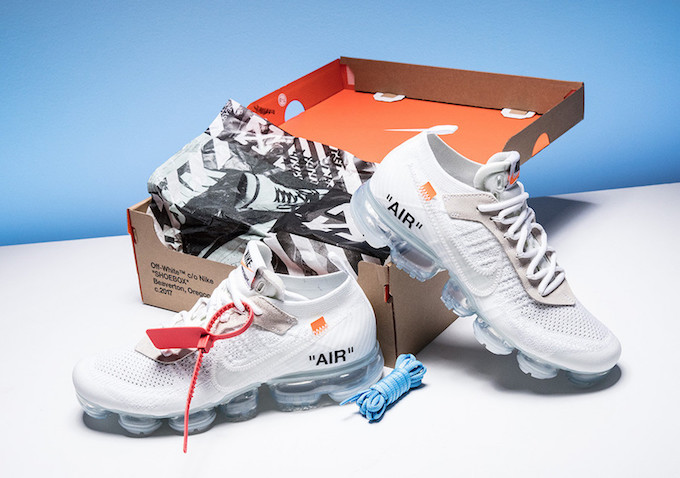 The Off White x Nike Air VaporMax Goes All White The Drop Date