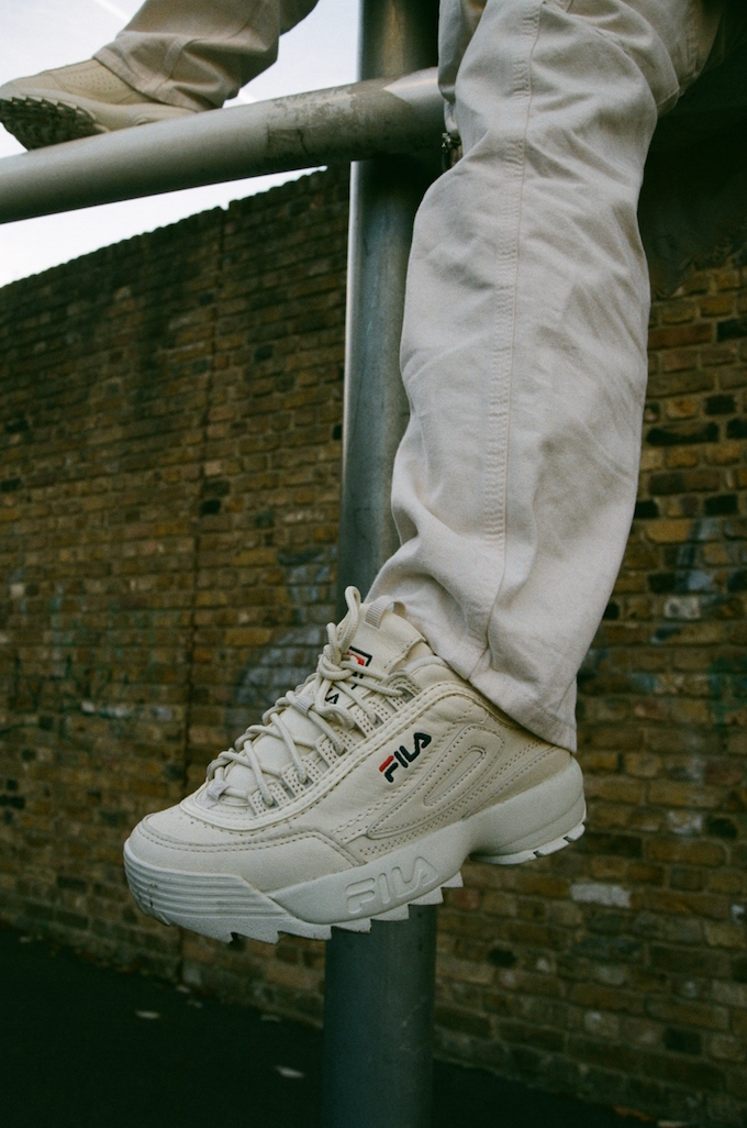 Fresh To Death Patta X Fila Disruptor Low The Drop Date