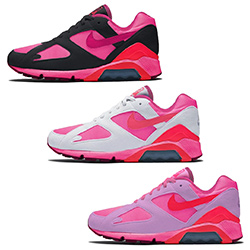promo code dd6e9 ad5da The Running Track meets the Catwalk with the COMME des GARÇONS HOMME x Nike  Air Max 180 - The Drop Date