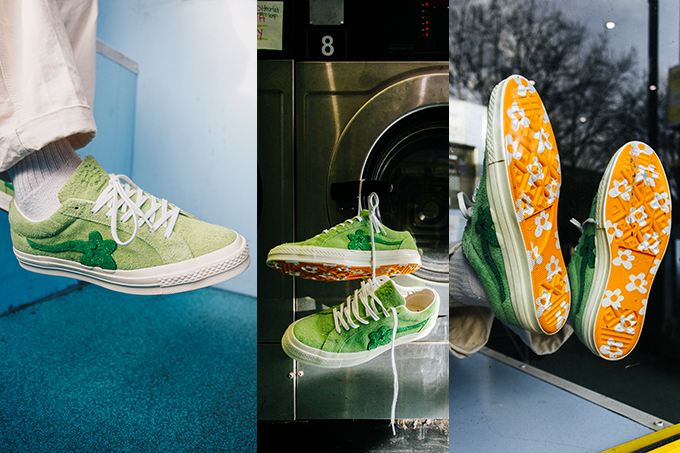 Converse X Golf Le Fleur One Star On Foot Shots The Drop Date
