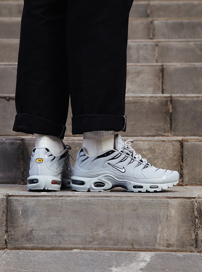 Nike Air Max Plus Wolf Grey On Foot Shots The Drop Date