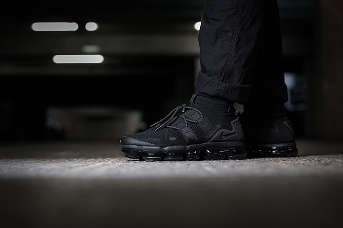 a83459787177 Nike Air VaporMax Flyknit Utility  On-Foot Shots - The Drop Date
