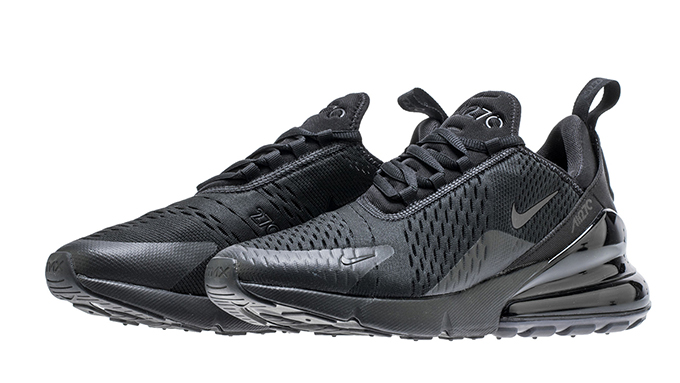 online retailer d5879 c1b25 Get Ready for the Nike Air Max 270 Triple Black - The Drop Date