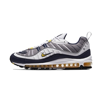 ec4880e3122 NIKE AIR MAX 98 OG - TOUR YELLOW - AVAILABLE NOW - The Drop Date
