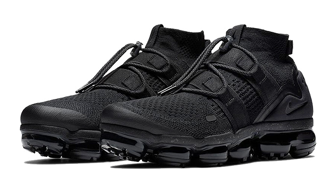 0f6436ee8192 Available Now  The New Nike Air VaporMax FK Utility Triple Black ...