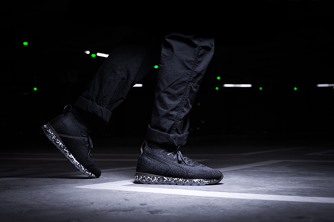 9abe9bccf37 PUMA Jamming Black   Forest Night  On-Foot Shots - The Drop Date