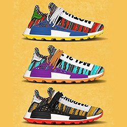 new products 42269 769ab The Pharrell x adidas Afro Hu NMD goes Tribal for FW18 - The ...