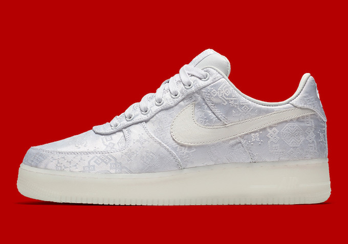 The CLOT X NIKE AIR FORCE 1 PRM is set to release on FRIDAY 23 FEBRUARY.  Hit the banner below to find out where you can pick up a pair.