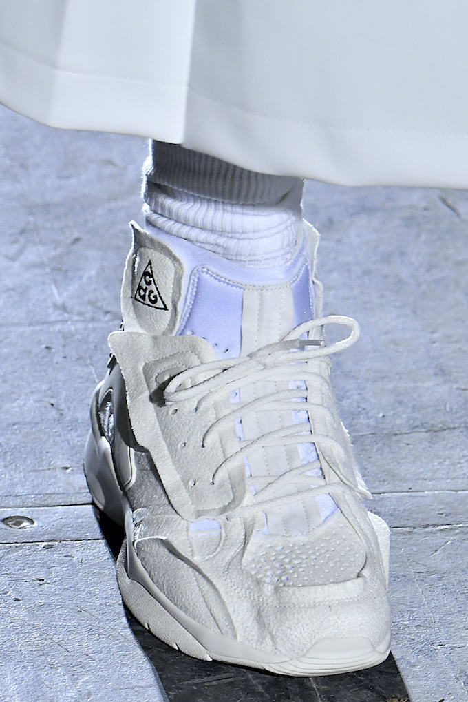 Spotted Comme Des Gar 231 Ons X Nike Acg Air Mowabb The