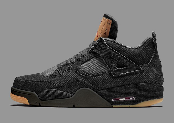 More to Come  Levi s x Nike Air Jordan 4 Black Denim - The Drop Date bebe04f9f
