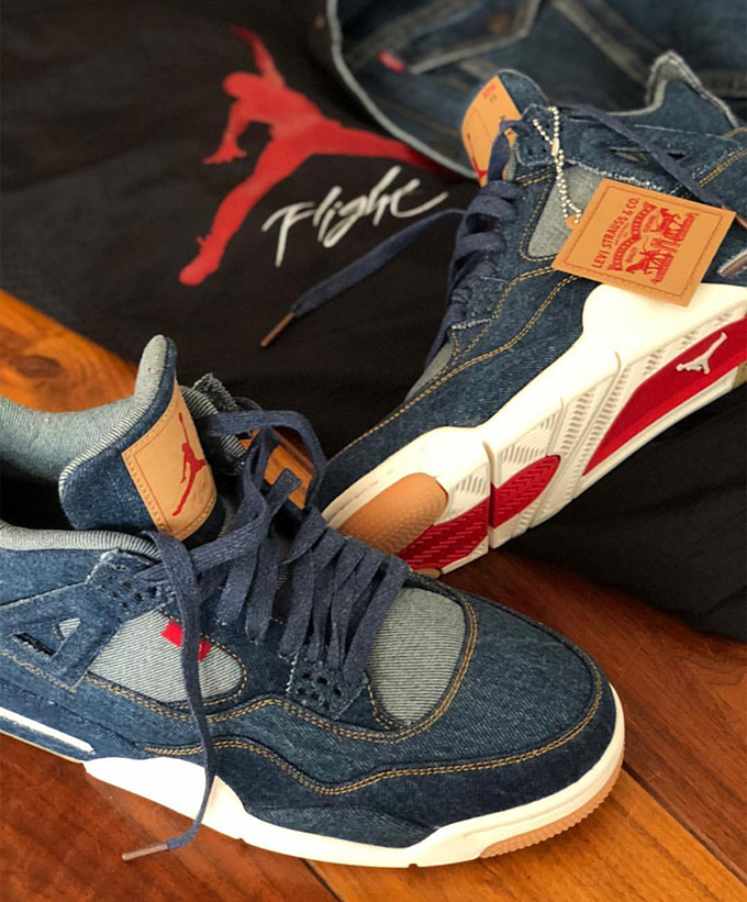 Eric Koston Reveals The Forthcoming Levi S X Air Jordan 4