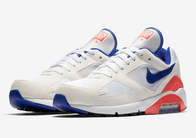sports shoes a5182 f5edc Its Back Nike Air Max 180 Ultramarine