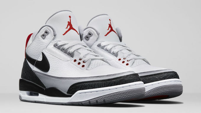 b8186e8b4880 The Nike Air Jordan 3 Tinker NRG Features A Bold Swoosh - The Drop Date