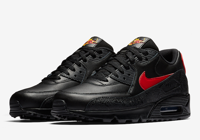 official photos d6edd 932c3 Nike Air Max 90 Chinese New Year