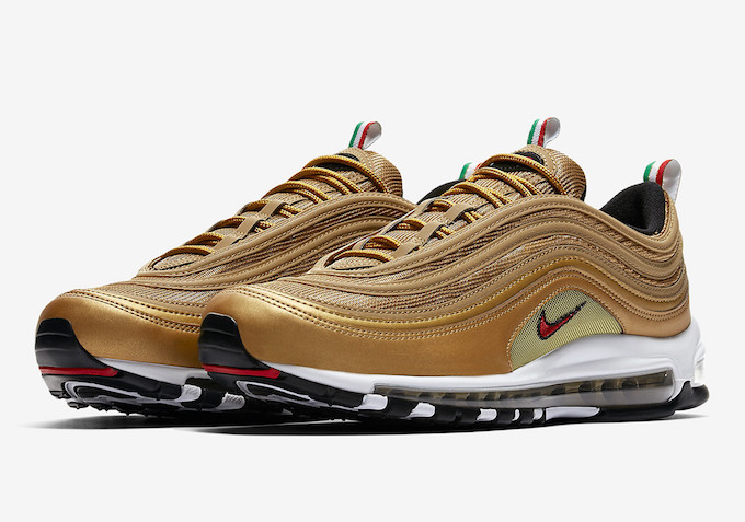 air max 97 italy metallic gold
