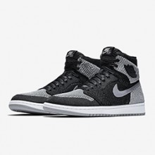 save off df21e 56d4c Available Now  Nike Air Jordan 1 Retro High Flyknit Shadow