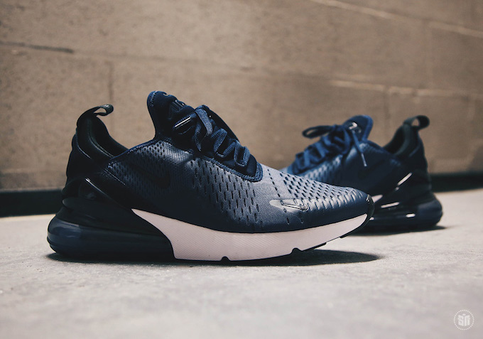 timeless design 90b1d f2931 The Nike Air Max 270 Midnight Navy Turns Off The Lights