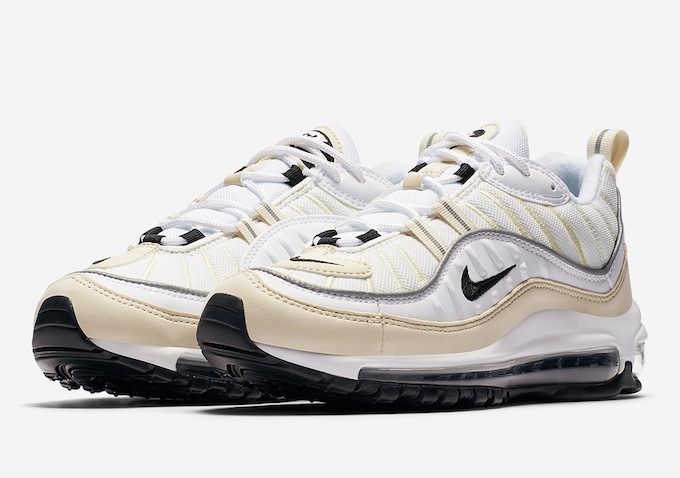 new arrivals 24f24 a2e74 Available Now: Nike Air Max 98 Fossil - The Drop Date