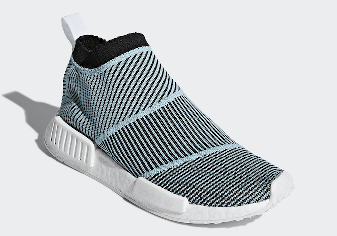 photos officielles 4e7a3 753e2 Parley For The Oceans x adidas NMD City Sock is due in ...