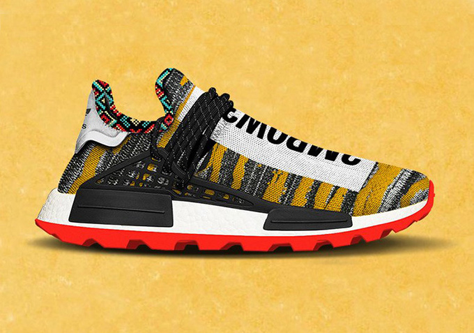 The Pharrell x adidas Afro Hu NMD goes Tribal for FW18 ...