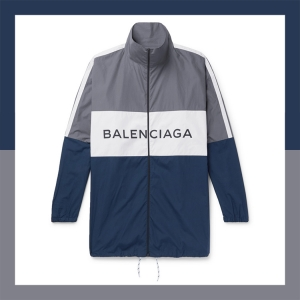 """The """"hottest brand in the world"""" right now drops a jacket inspired by geography teacher field trips circa 1984, and it's a banger. Click the pic to shop."""