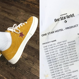 CONVERSE ONE STAR HOTEL LEAKED PRODUCT LIST