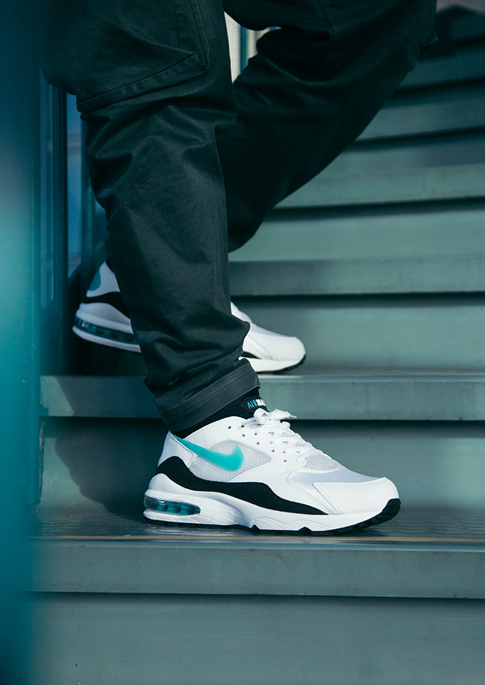 timeless design 667ef e5d00 Nike Air Max 93 OG Dusty Cactus: On-Foot Shots - The Drop Date