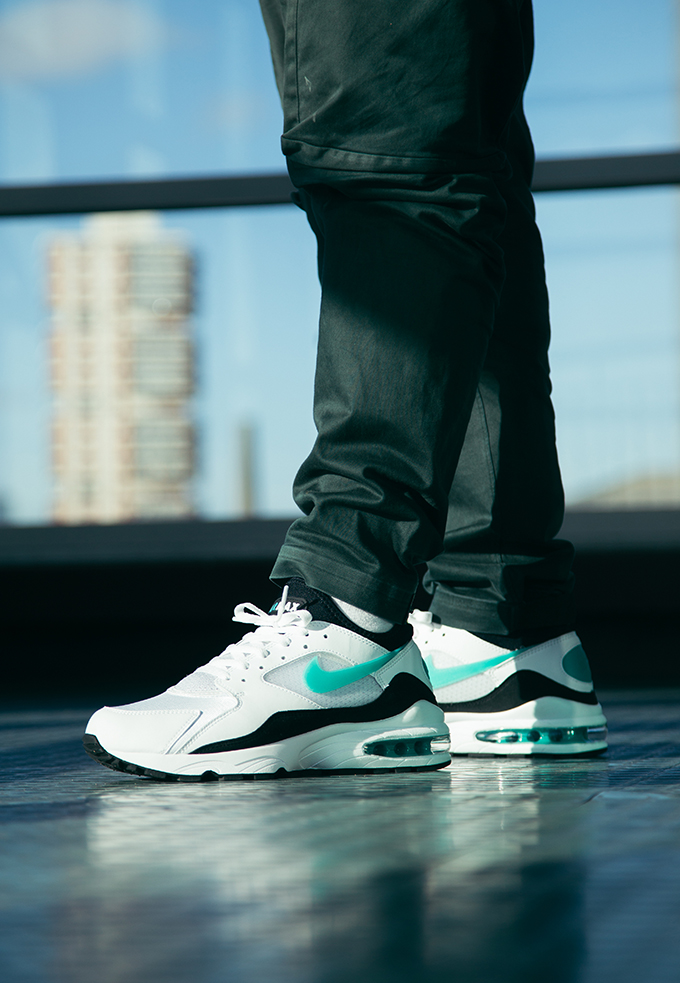 Nike Air Max 93 OG Dusty Cactus: On Foot Shots The Drop Date