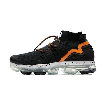 bcca65125cb64 NIKELAB AIR VAPORMAX FK UTILITY. BLACK BLACK-ORANGE PEEL-SUMMIT WHITE.  Code  AH6834-008