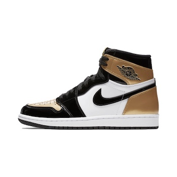 Nike Air Jordan 1 Retro High OG NRG - Gold Toe - 13 FEB 2018 - The ... 57d6802b1