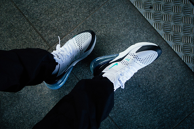 factory authentic 89b92 207bb Nike Air Max 270 Dusty Cactus: On-Foot Shots - The Drop Date