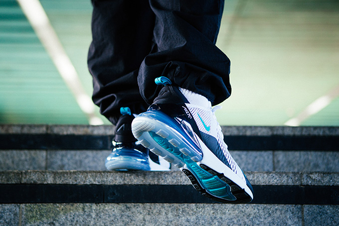 factory authentic d1392 8c3a8 Nike Air Max 270 Dusty Cactus: On-Foot Shots - The Drop Date